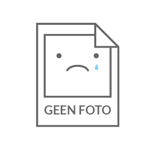 TABLE OVALI BLANC/CHROME